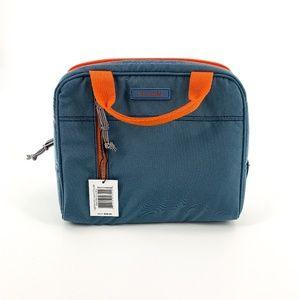 Vera Bradley Blue & Orange Lighten Up Lunch Cooler